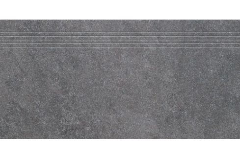 Schodovka Rako Kaamos čierna 40x80 cm mat DCP84588.1