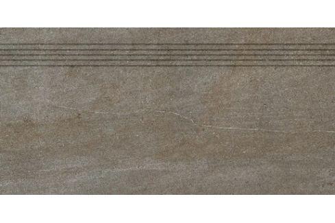 Schodovka Rako Quarzit hnedá 40x80 cm mat DCP84736.1