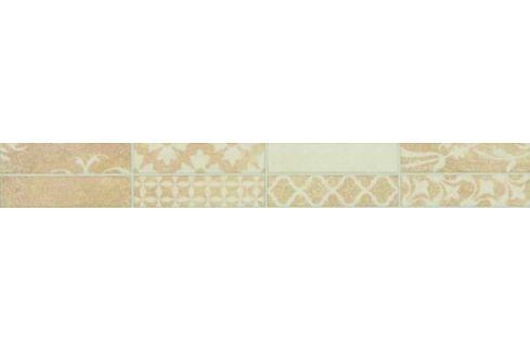 Listela Multi Borneo béžová patchwork 5x40 cm mat WLAMH448.1