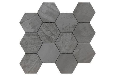Mozaika Sintesi Met Arch steel 30x34 cm mat MA12464