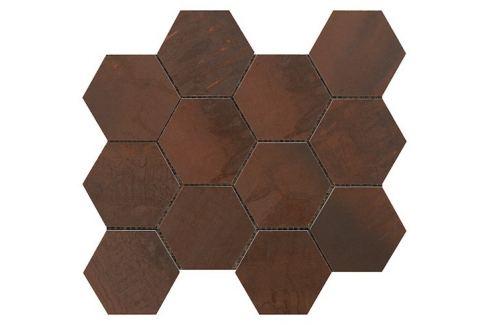 Mozaika Sintesi Met Arch copper 30x34 cm mat MA12465