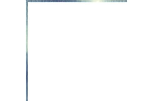 Profil Cir Miami argento 20x20 cm mat 1065268