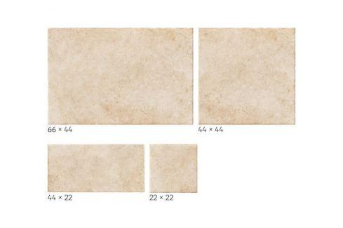 Dlažba Realonda Modular Borgogna beige 44x66, 44x44, 22x22, 22x44 cm mat MBORGBE