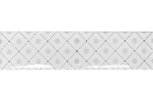 Obklad Ribesalbes Ocean white 7,5x30 cm lesk OCEAN2717