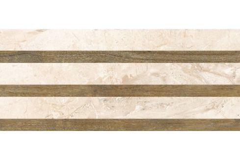 Dekor Fineza Adore ivory strips 25x60 cm mat DADORE256ST