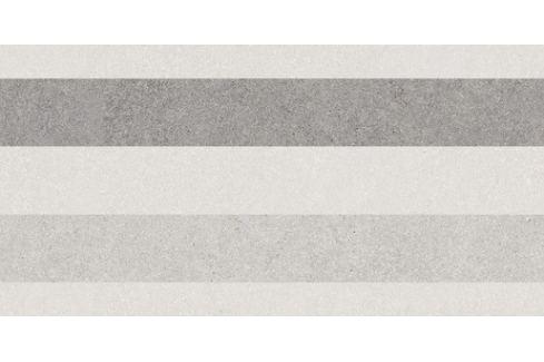 Dekor Rako Block svetlo šedá 30x60 cm mat WARV4780.1