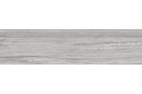 Schodovka Rako Alba šedá 30x120 cm mat DCPVF733.1