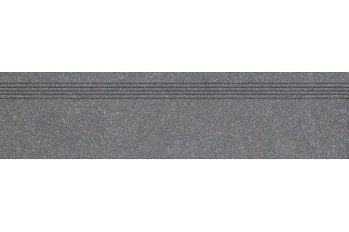 Schodovka Rako Block čierna 30x120 cm mat DCPVF783.1