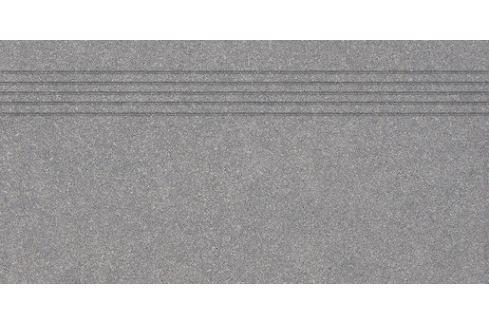 Schodovka Rako Block tmavo šedá 40x80 cm mat DCP84782.1