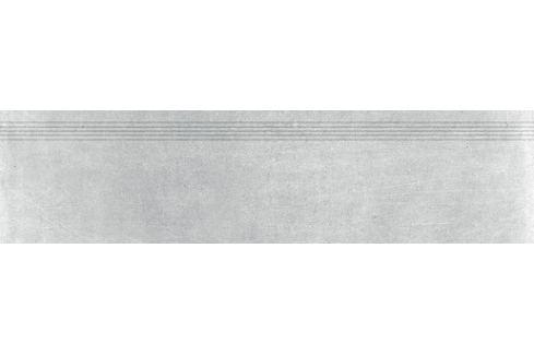 Schodovka Rako Rebel šedá 30x120 cm mat DCPVF741.1