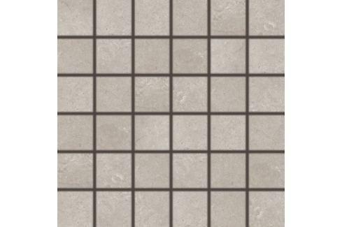 Mozaika Rako Limestone béžovošedá 30x30 cm mat / lesk DDM06802.1