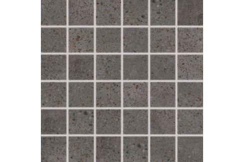 Mozaika Rako Piazzetta čierna 30x30 cm mat DDM06789.1