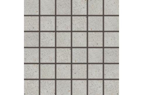 Mozaika Rako Piazzetta svetlo šedá 30x30 cm mat DDM06788.1
