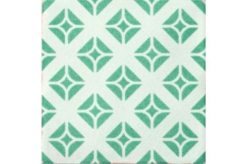 Dlažba Cir Key West green wave mix 20x20 cm mat 1067670