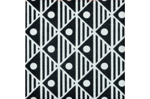 Dlažba Cir Key West black wave D 20x20 cm mat 1067667