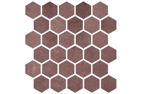 Mozaika Cir Materia Prima jewel hexagon 27x27 cm lesk 1069913
