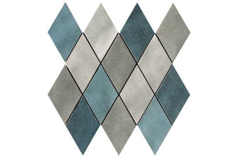 Mozaika Cir Materia Prima mix blue rombo 25x25 cm lesk 1069905