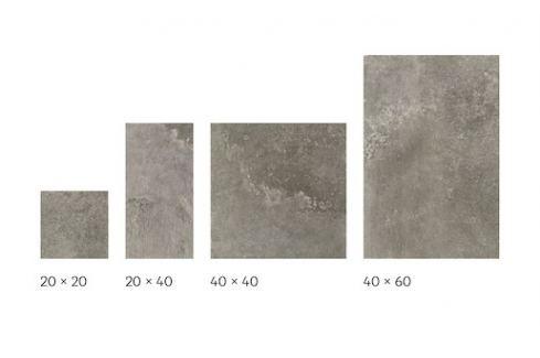 Dlažba Cir Molo Audace bocca di lupo 20x20,20x40,40x40,40x60 cm mat 10685441