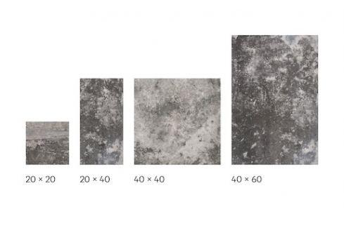Dlažba Cir Molo Audace nero galera 20x20,20x40,40x40,40x60 cm mat 10685461