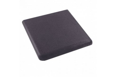 Schodovka Rohová Gresan Onix čierna 33x33 cm mat GROSCRF33335