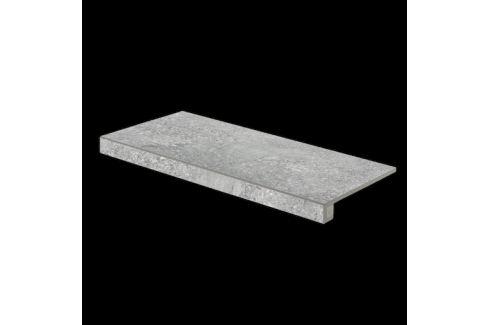 Schodová Tvarovka Rako Stones šedá 30x60 cm mat DCESE667.1