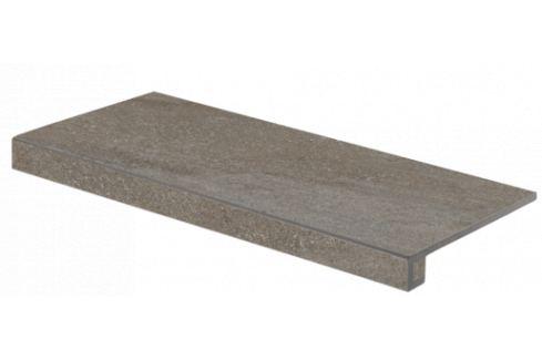 Schodová Tvarovka Rako Quarzit hnedá 40x80 cm mat DCF84736.1