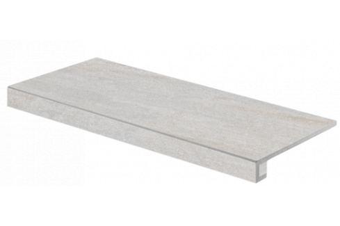 Schodová Tvarovka Rako Quarzit šedá 40x80 cm mat DCF84737.1