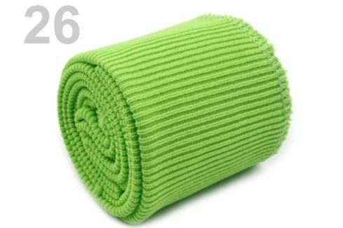 Úplety elastické polyesterové sada zelená sv. 1sada