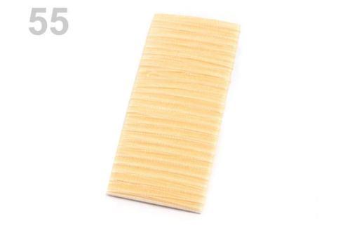 Monofilová stuha šírka 3 mm telová 10m Stoklasa