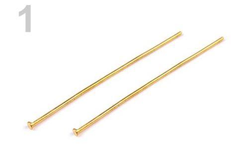 Ketlovací nit 40 mm zlatá 250ks Stoklasa