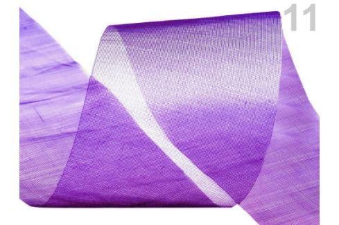 Stuha šifónová rezaná  šírka  50 mm Imperial Purple 440m Stoklasa