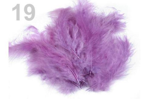 Pštrosie perie dĺžka 9-16 cm fialová sv. 1sáčok Stoklasa
