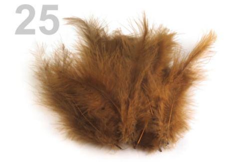 Pštrosie perie dĺžka 9-16 cm béžová tm. 150sáčok Stoklasa