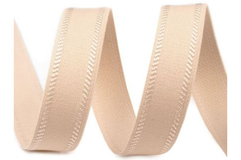 Guma  ramienková šírka 12 mm béžová sv. 25m