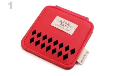 ozmetické zrkadielko Graphic Languo červená sv. 1ks Stoklasa